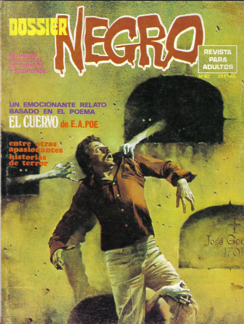 Couverture de Dossier Negro -82- El cuervo
