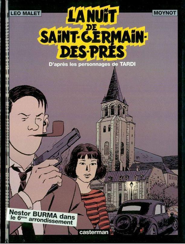 Couverture de Nestor Burma -5- La nuit de Saint-Germain-Des-Prés