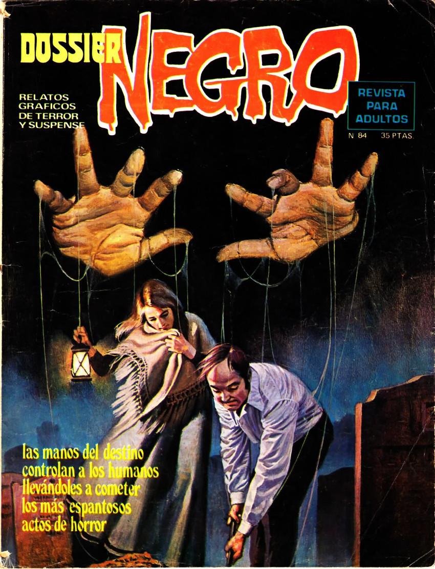 Couverture de Dossier Negro -84- Las manos del destino