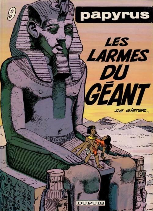 Couverture de Papyrus -9- Les larmes du géant