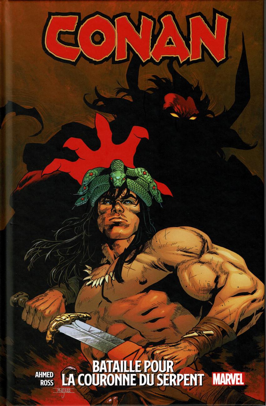 Couverture de Conan : La couronne du serpent - Conan - Bataille pour la couronne du serpent