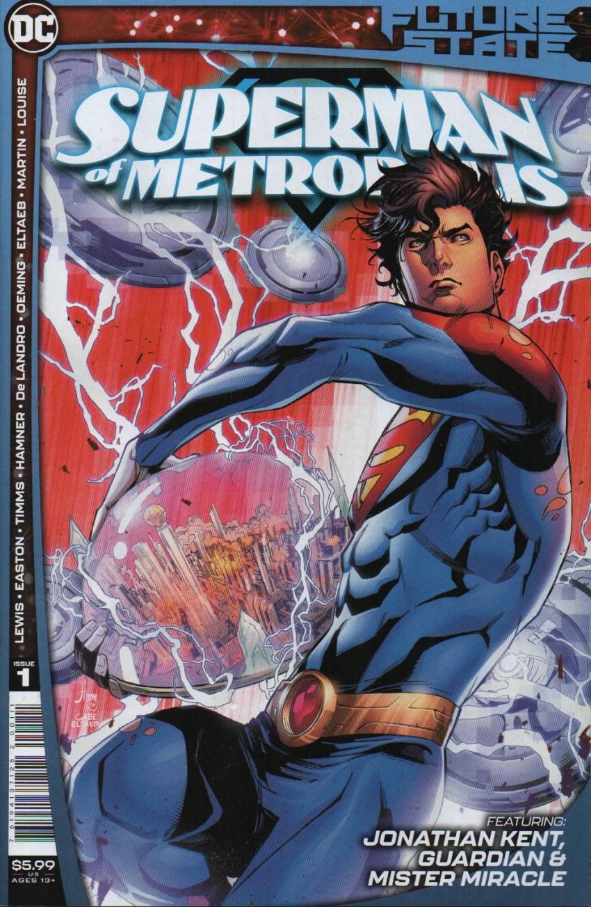 Couverture de Future State: Superman of Metropolis (DC Comics - 2021) -1- Issue # 1