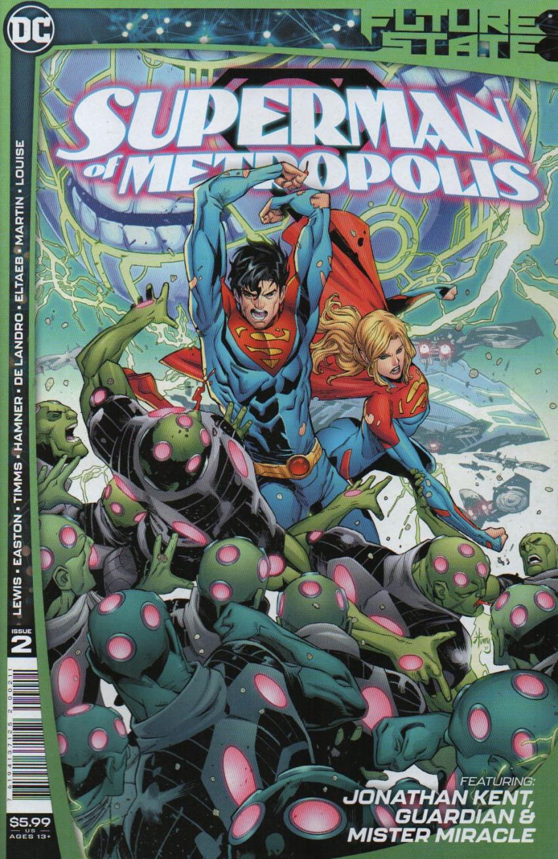 Couverture de Future State: Superman of Metropolis (DC Comics - 2021) -2- Issue # 2
