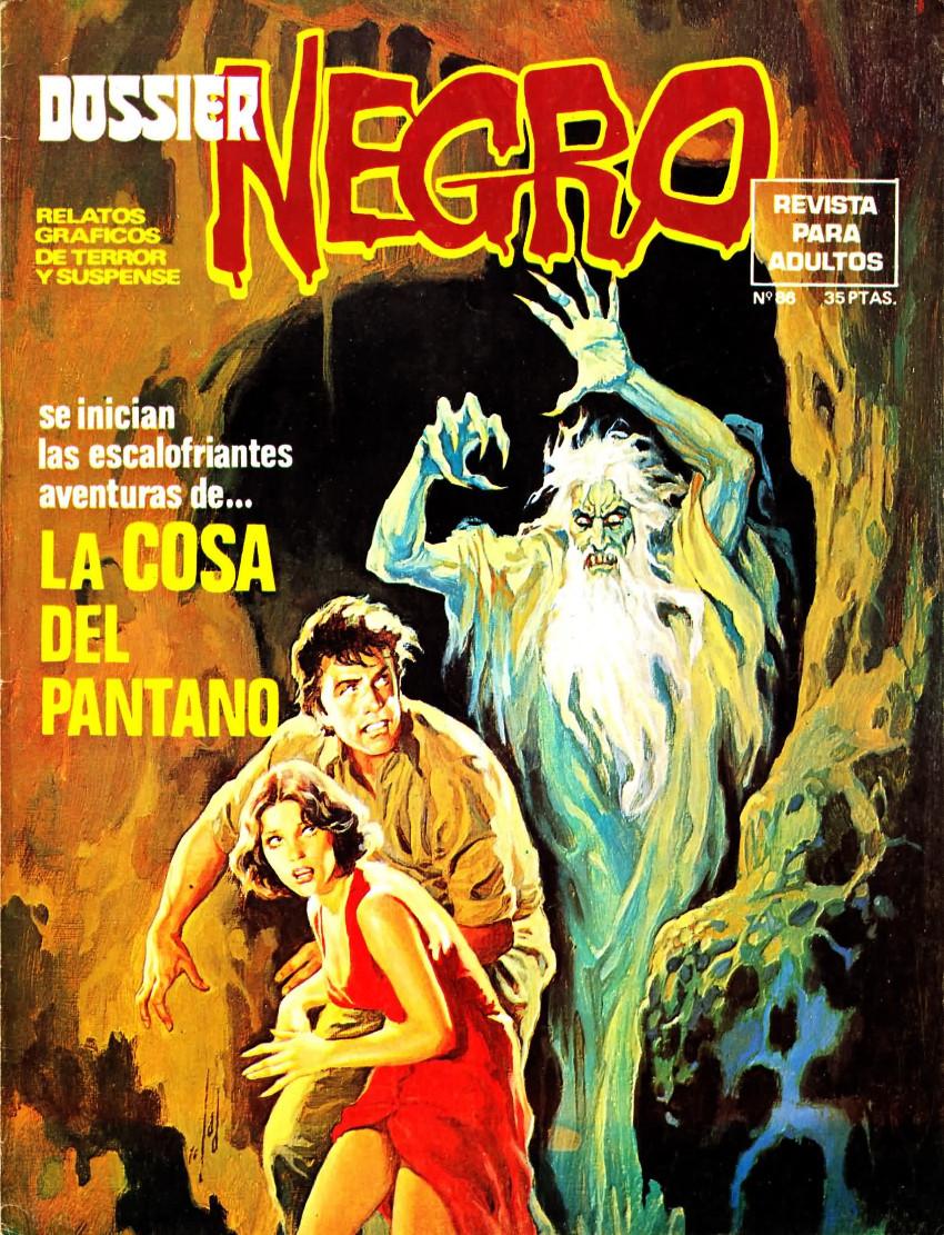 Couverture de Dossier Negro -86- La cosa del pantano