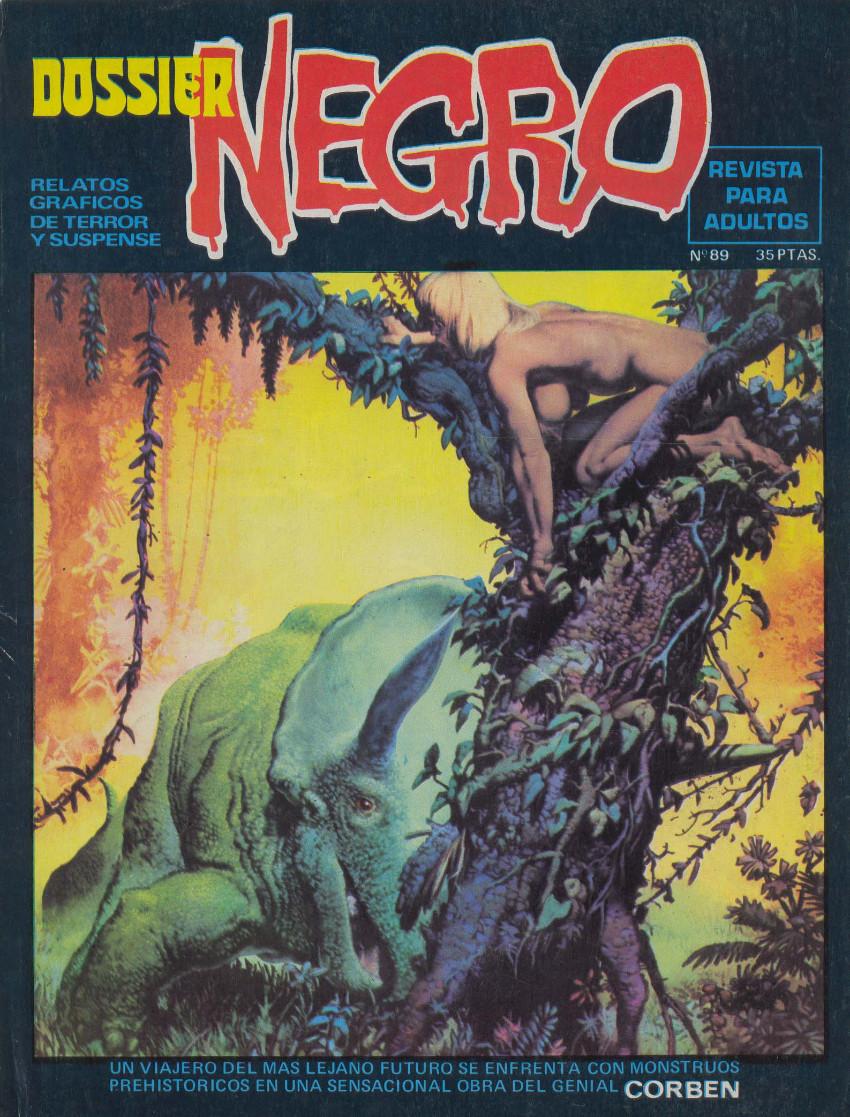 Couverture de Dossier Negro -89- Número 89
