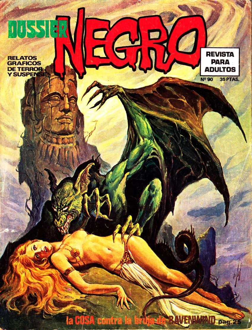 Couverture de Dossier Negro -90- La Cosa contra La bruja de Ravenwind