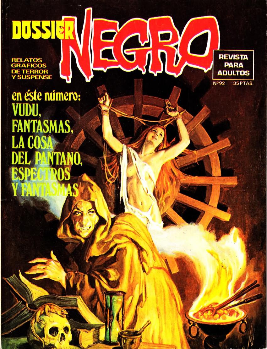 Couverture de Dossier Negro -92- Número 92