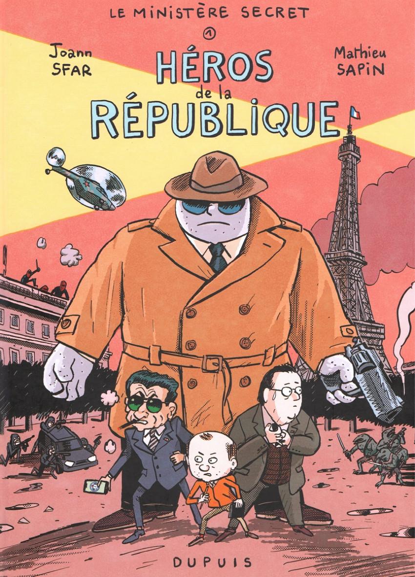 Couverture de Le ministère secret -1- Héros de la république