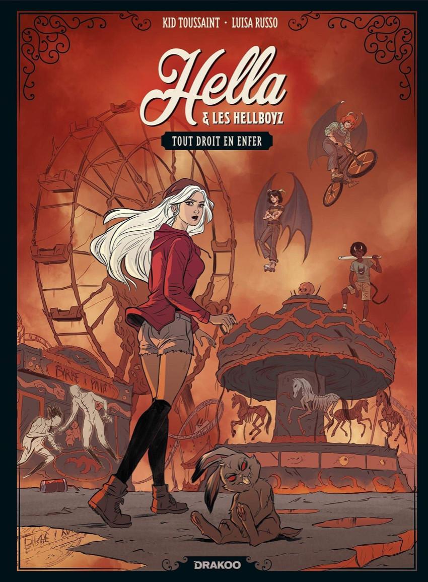 Couverture de Hella & les Hellboyz -1- Tout Droit en enfer