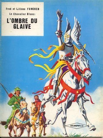 Couverture de Le chevalier blanc -8- L'Ombre du Glaive