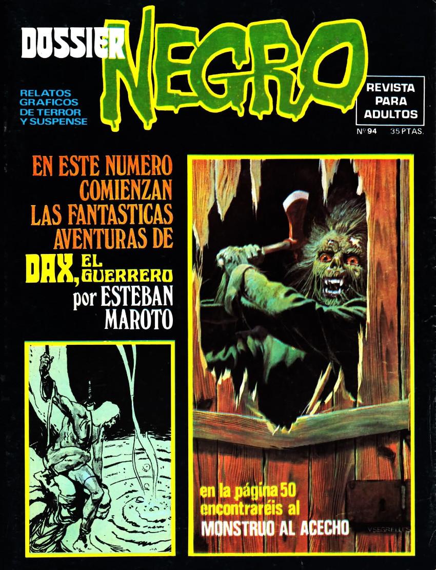 Couverture de Dossier Negro -94- Dax, el guerrero