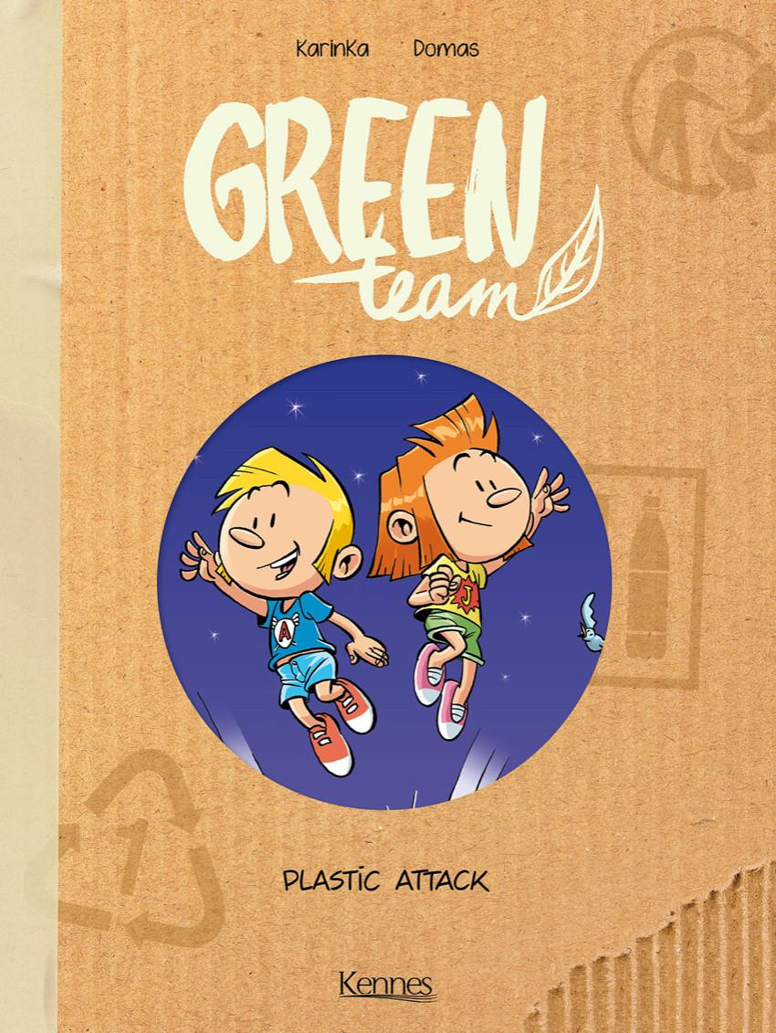 Couverture de Green Team -2- Plastic Attack