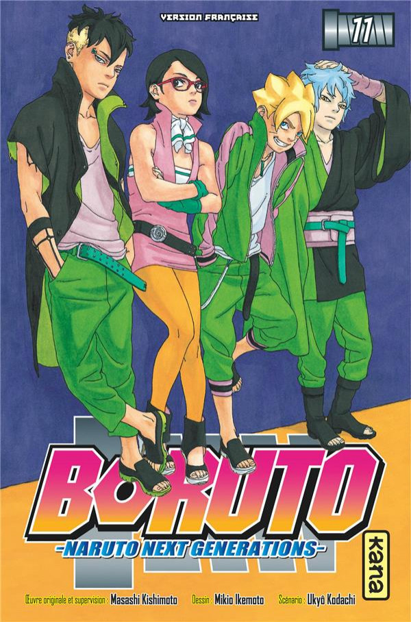 Boruto - Naruto Next Generations - les 11 tomes