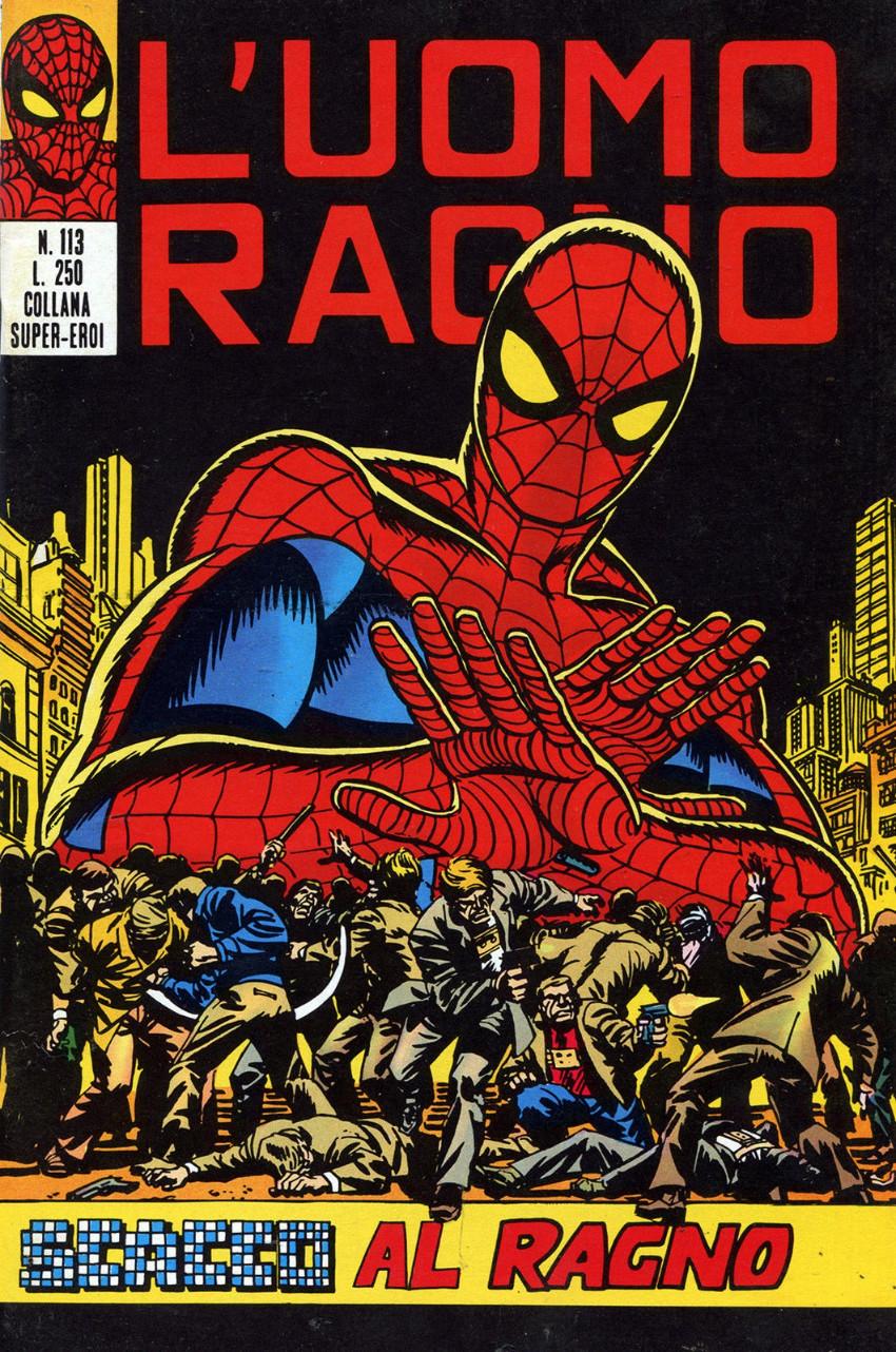 Couverture de L'uomo Ragno V1 (Editoriale Corno - 1970)  -113- Scacco al Ragno