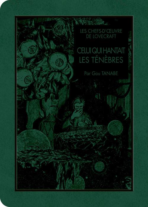 Couverture de Les chefs-d'œuvre de Lovecraft -6- Celui qui hantait les ténèbres