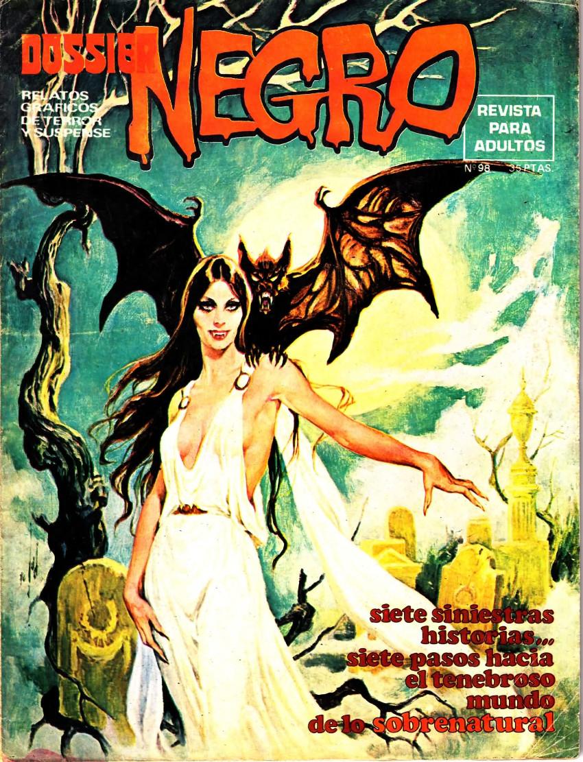 Couverture de Dossier Negro -98- Número 98