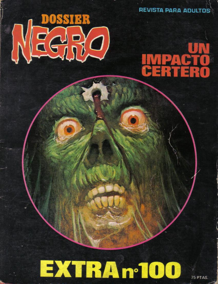 Couverture de Dossier Negro -100- Extra nº 100