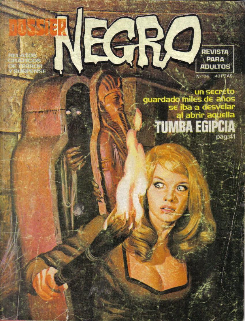 Couverture de Dossier Negro -104- Tumba egipcia