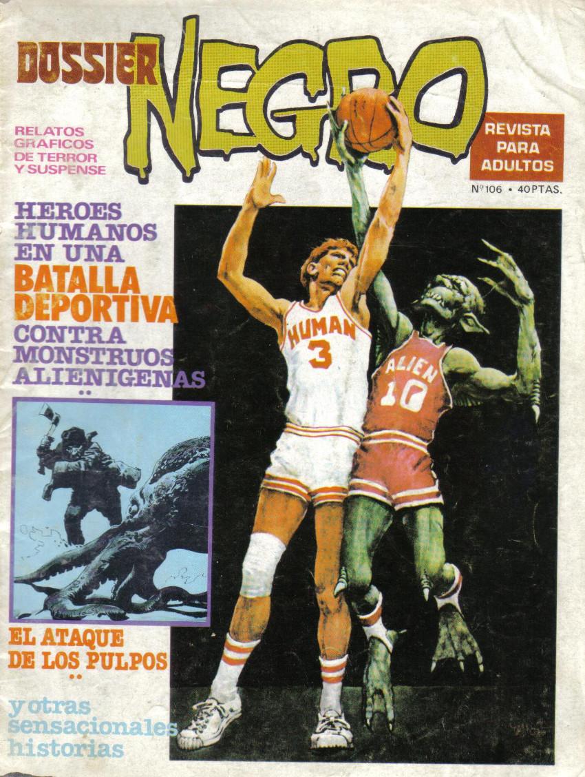 Couverture de Dossier Negro -106- Batalla deportiva
