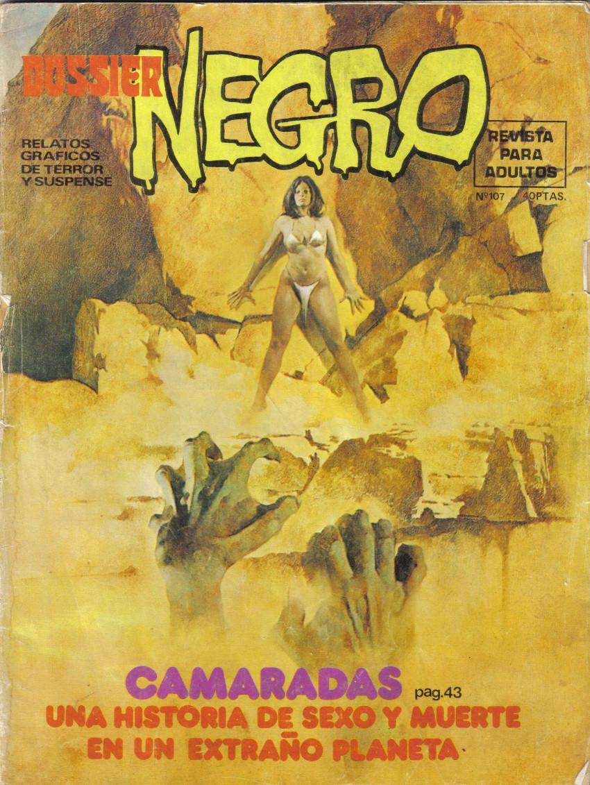 Couverture de Dossier Negro -107- Camaradas