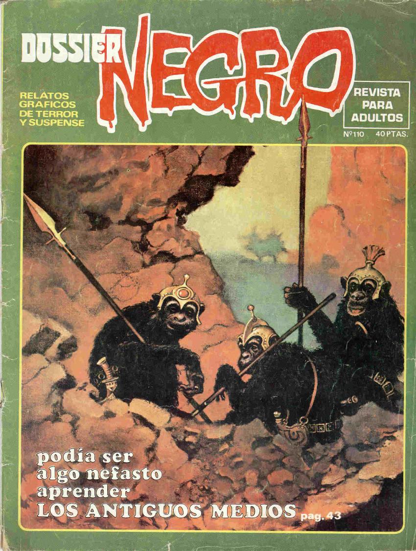 Couverture de Dossier Negro -110- Los antiguos medios