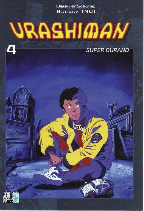 Couverture de Urashiman - Super Durand -4- Tome 4