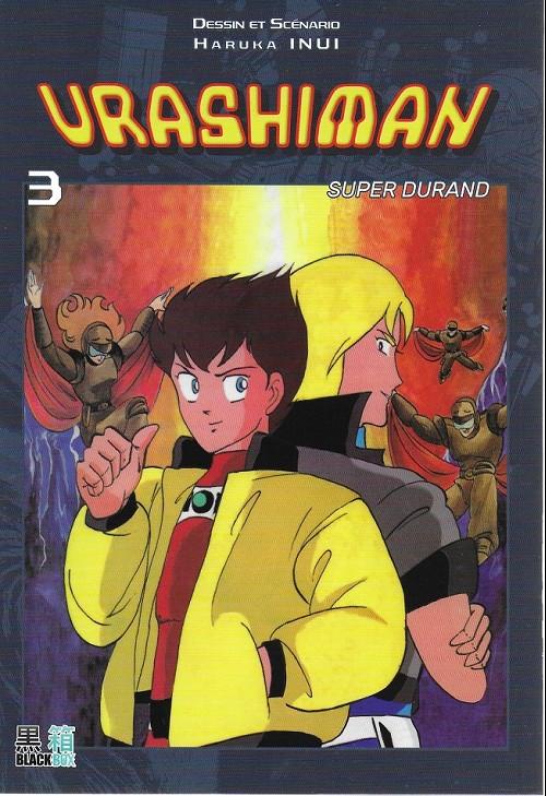 Couverture de Urashiman - Super Durand -3- Tome 3