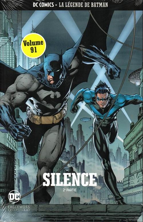 Couverture de DC Comics - La légende de Batman -9191- Silence - 2ème partie