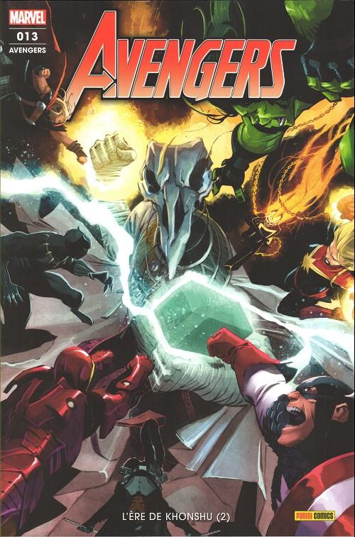 Couverture de Avengers (Marvel France - 2020) -13- L'ère de khonshu (2)