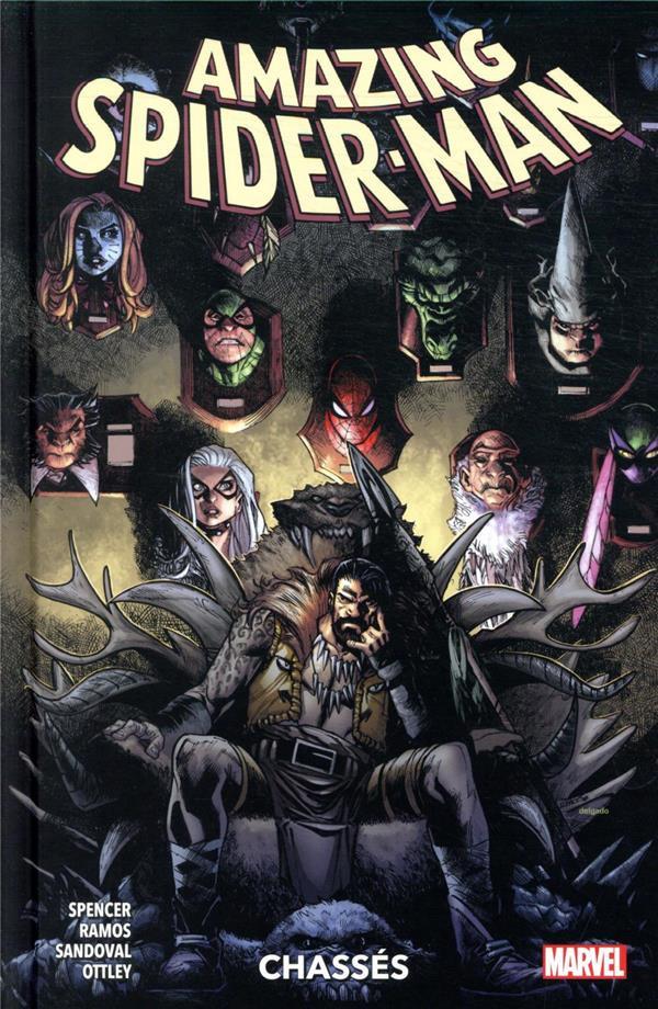 Couverture de Amazing Spider-Man (100% Marvel) -4- Chassés