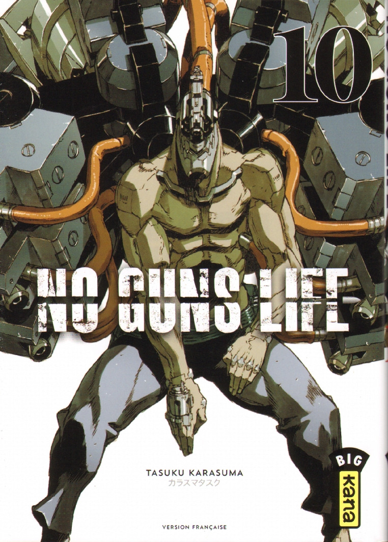 Couverture de No Guns Life -10- Tome 10