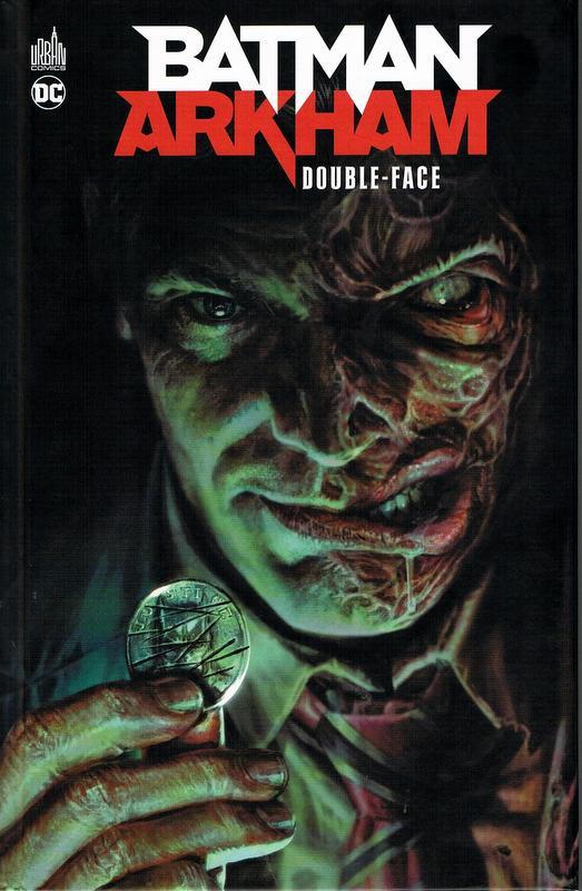 Couverture de Batman Arkham -1- Double-Face
