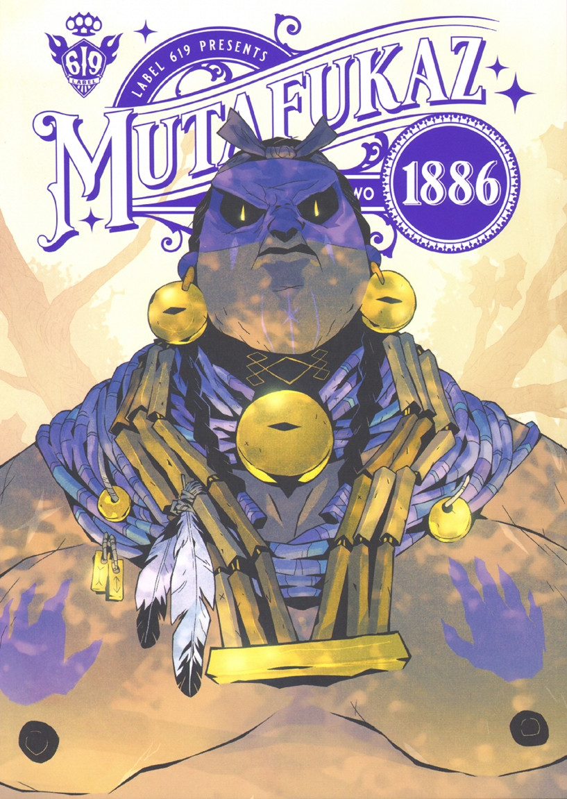 Couverture de Mutafukaz 1886 -2- Chapter Two