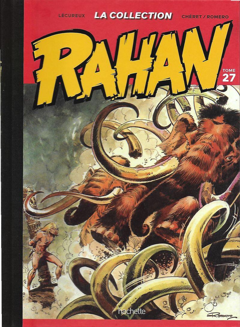 Couverture de Rahan - La Collection (Hachette) -27- Tome 27