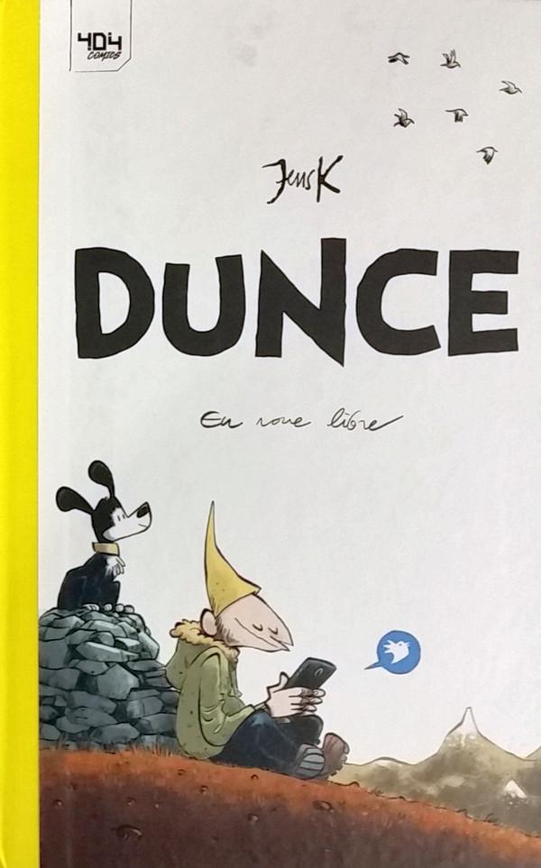 Chronique : Dunce -1- En roue libre (404 éditions)