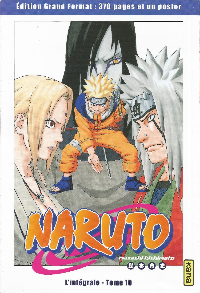 Couverture de Naruto (Hachette) -10- L'intégrale - Tome 10