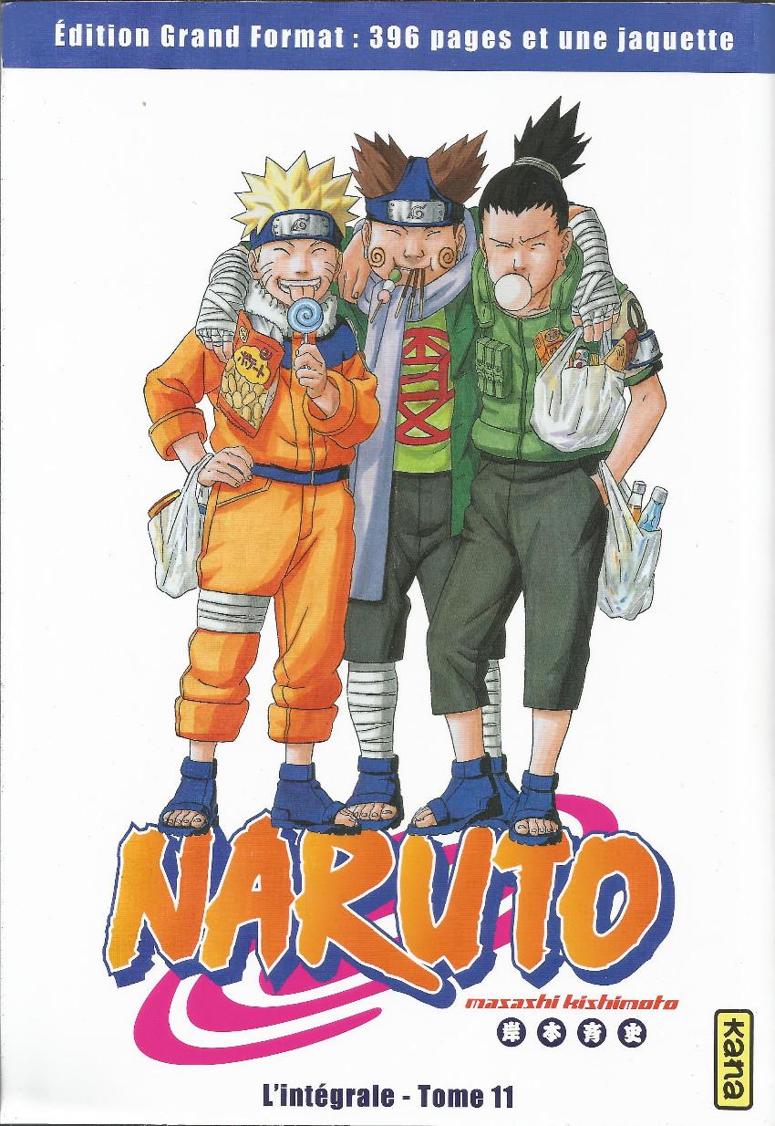 Couverture de Naruto (Hachette) -11- L'intégrale - Tome 11