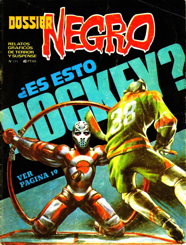 Couverture de Dossier Negro -111- ¿Es esto Hockey?