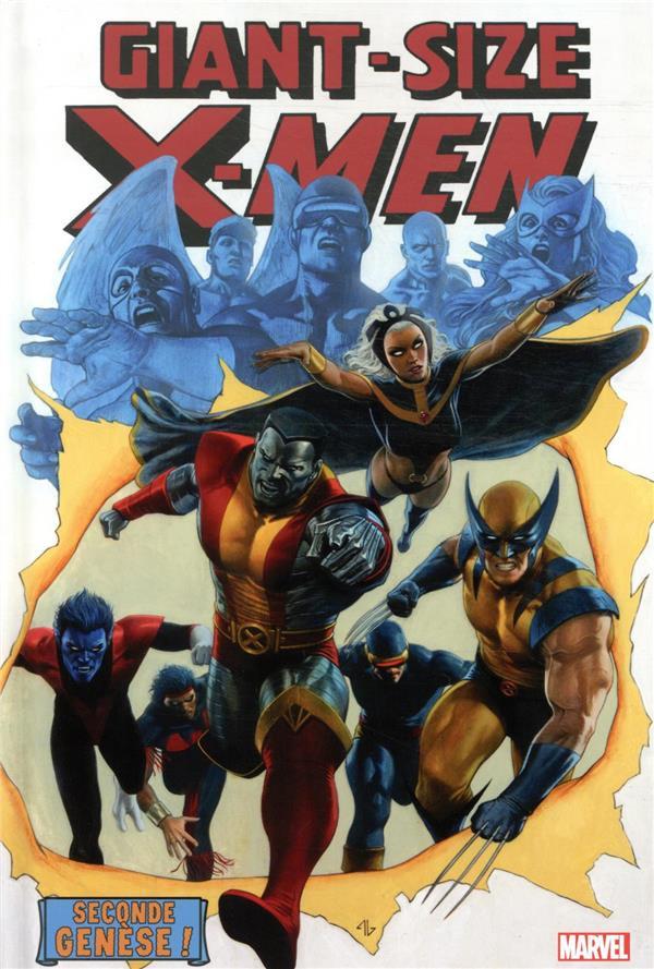Couverture de Giant-Size X-Men : Seconde genèse !