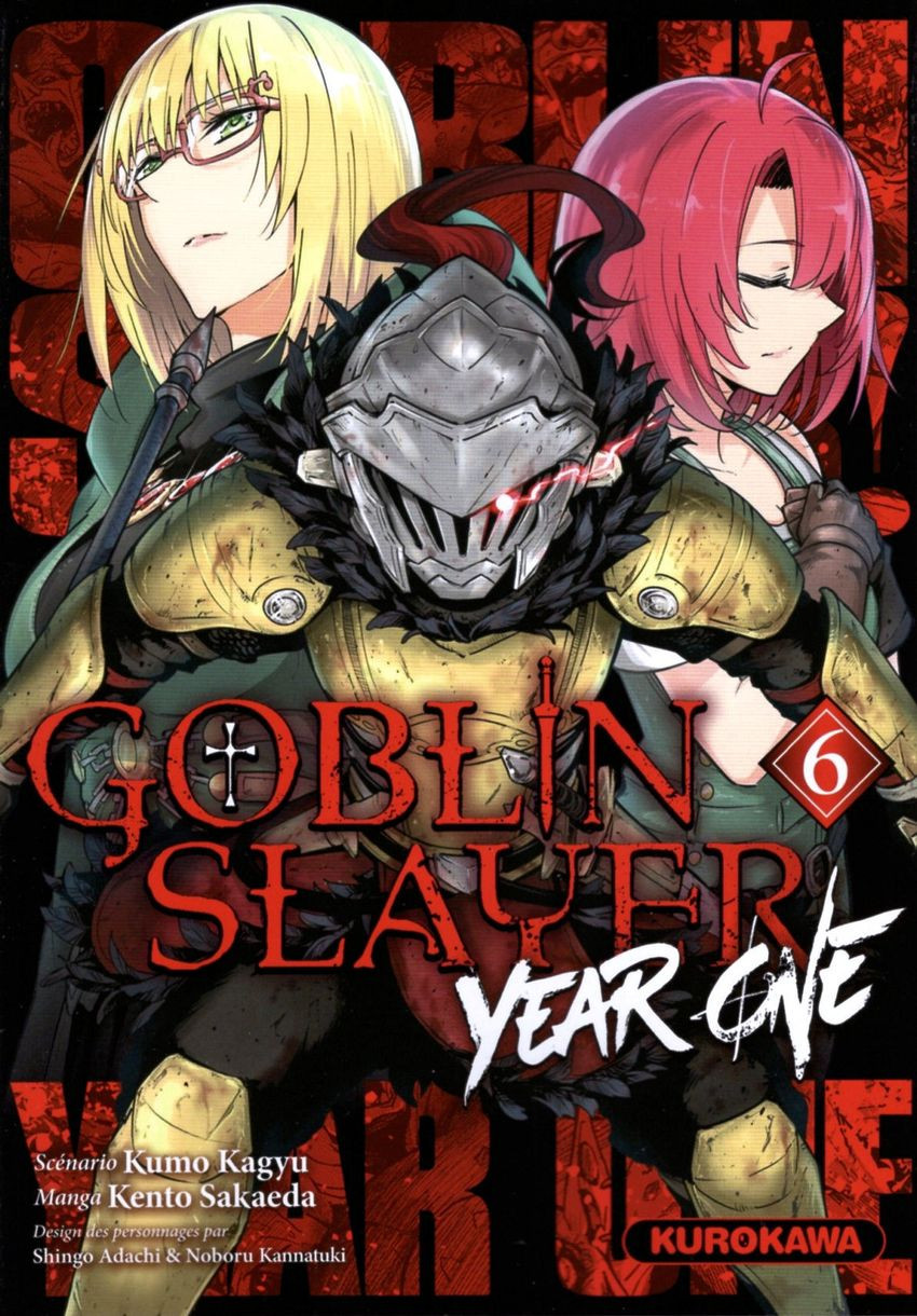Couverture de Goblin Slayer : Year One -6- Tome 6