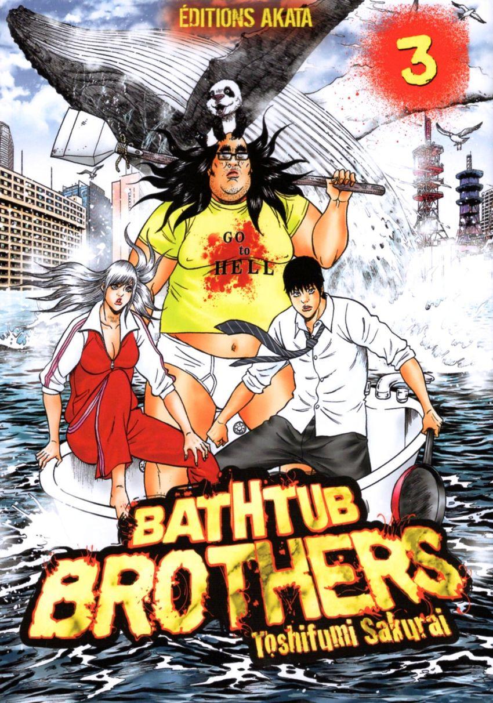 Bathtub Brothers - 4 tomes