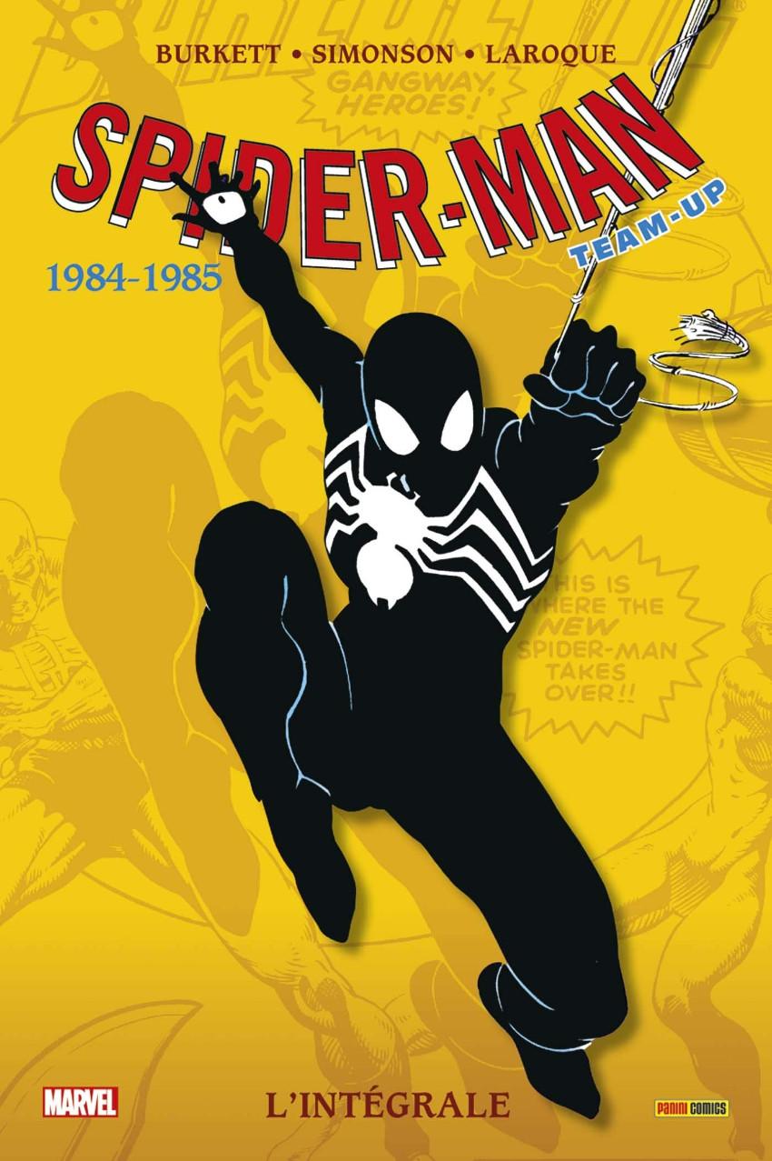 Couverture de Spider-Man Team-Up (L'Intégrale) -11INT- L'intégrale 1984-1985