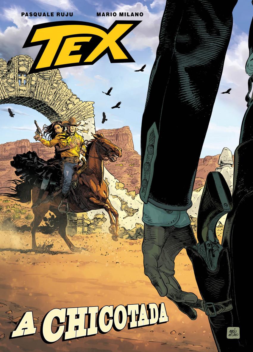 Couverture de Tex (en portugais - A Seita) -1- A chicotada