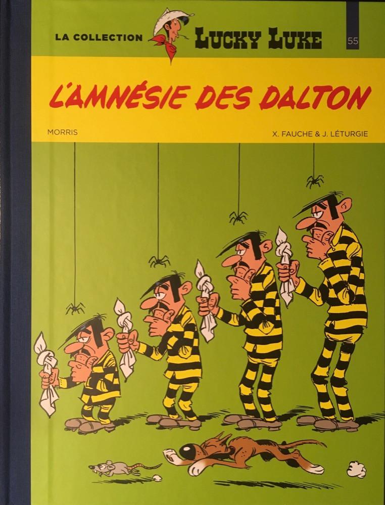 Couverture de Lucky Luke - La collection (Hachette 2018) -5560- L'amnésie des Dalton