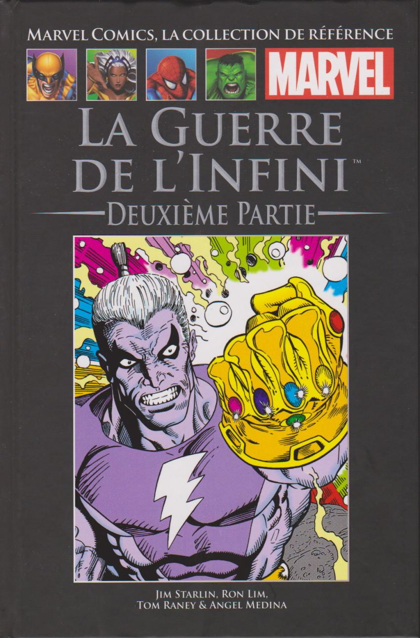 Couverture de Marvel Comics - La collection (Hachette) -176154- La Guerre de L'Infini : Deuxième Partie
