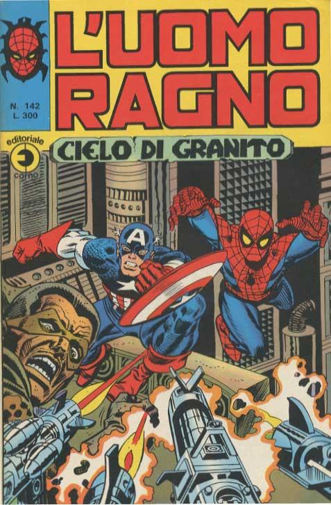 Couverture de L'uomo Ragno V1 (Editoriale Corno - 1970)  -142- Cielo di Granito