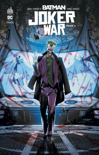 Couverture de Batman Joker War -2- Tome 2