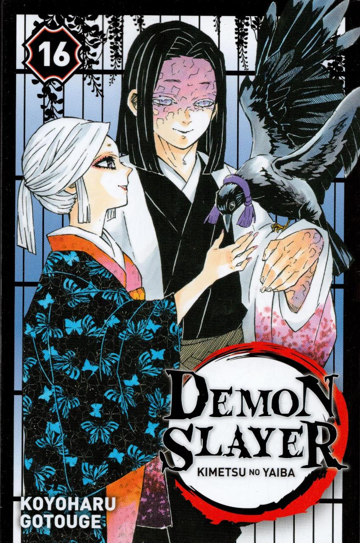 Couverture de Demon Slayer - Kimetsu no yaiba -16- Tome 16