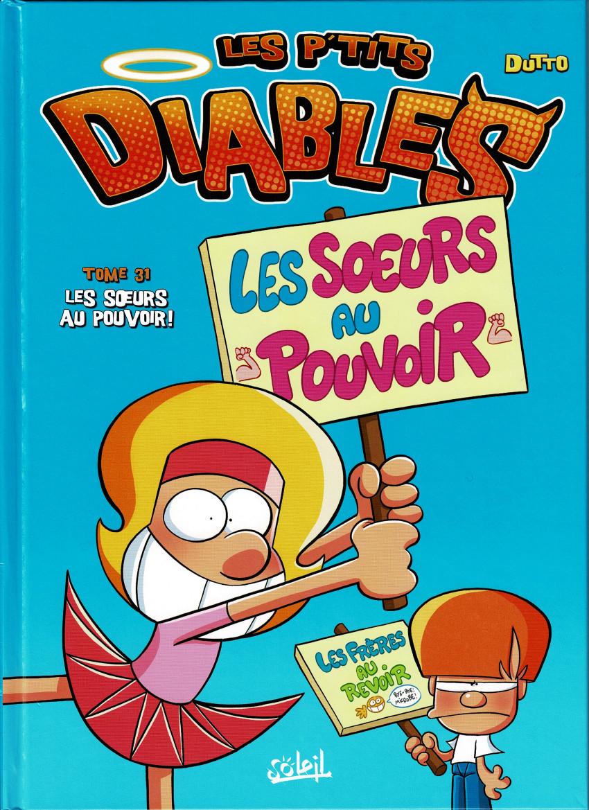 Couverture de Les p'tits diables -31- Les Sœurs au pouvoir !