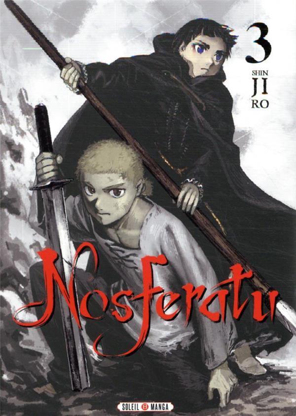 Couverture de Nosferatu (Shinjiro) -3- Tome 3